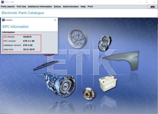 [06.2019] BMW ETK EPC Online VIN Account Software-1