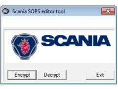 Scania SOPS File Encryptor/Decryptor