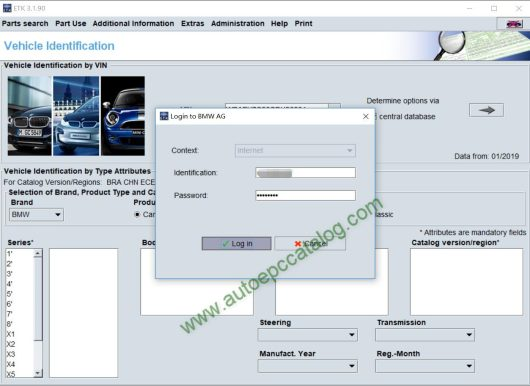 [06.2019] BMW ETK EPC Online VIN Account Software-2