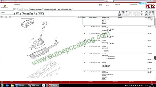 2019 Porsche PET2 EPC Software Download & Installation Service (3)