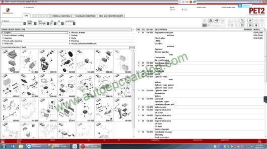 2019 Porsche PET2 EPC Software Download & Installation Service (4)