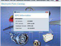 2020 BMW ETK EPC