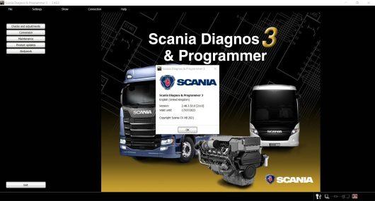 Scania SDP3 2.48.3
