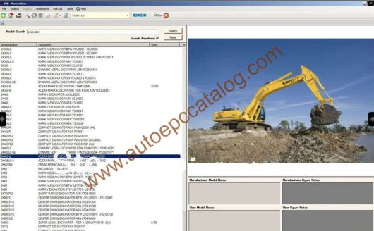Kobelco Spare Parts Catalog PowerView EPC Download (1)