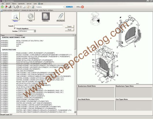 Kobelco Spare Parts Catalog PowerView EPC Download (3)