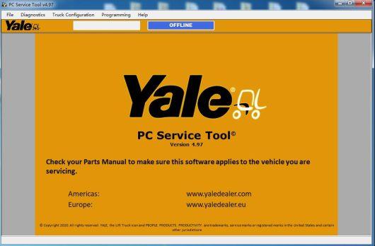 2021 Yale PC Service Tool 4.97