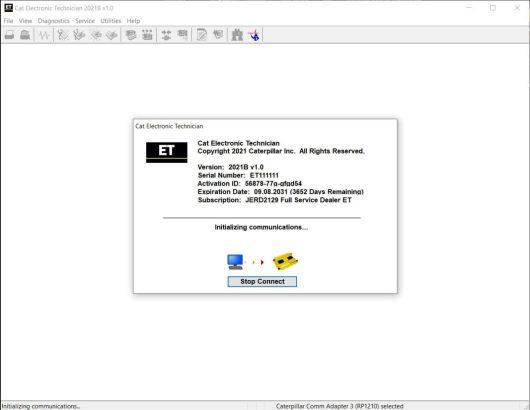 CAT-ET-2021B-Diagnostic Software