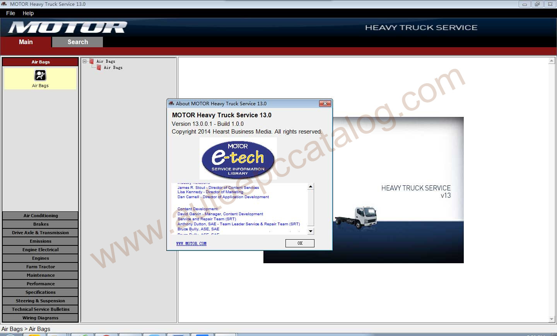 Motor Heavy Truck Service v13.0 Download & Installation Service ... volvo truck warning symbols Auto EPC Catalog-Automobile EPC Download