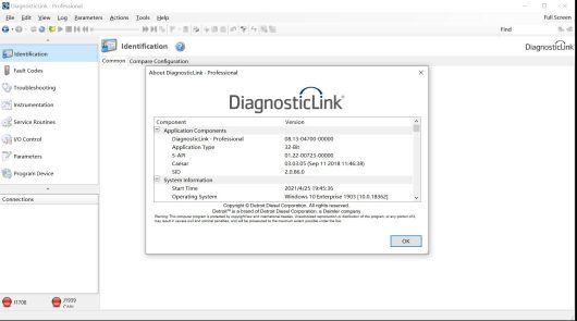 Detroit Diesel Diagnostic Link DDDL 8.13-1