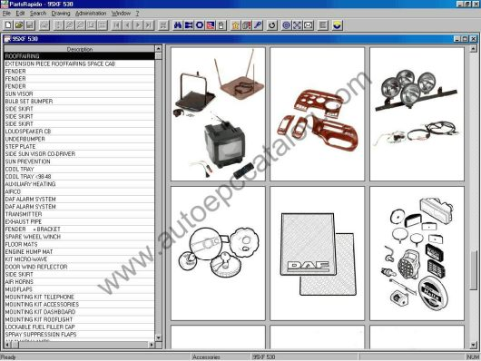 2016 DAF Parts Rapido EPC Download & Installation Service (6)