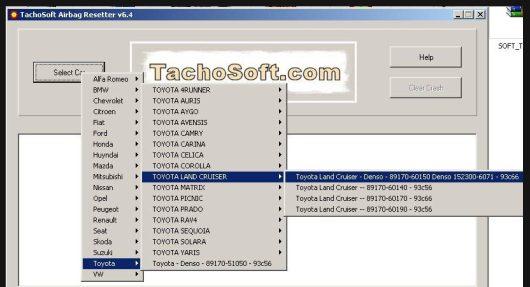 Tachosoft Airbag Resetter 6.4