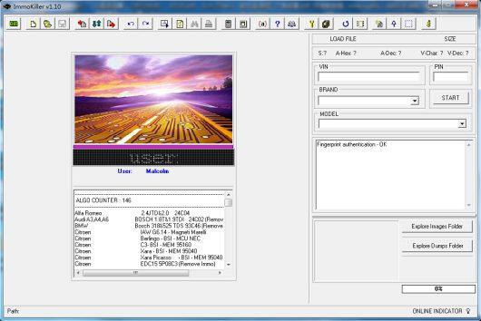 Immokiller 1.10 software
