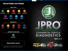 JPRO 2021 Commercial Vehicle Diagnostics Software