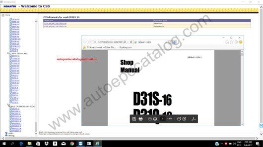 Komatsu CSS Full Set Part Catalogue+Service Manual Installation Service (6)