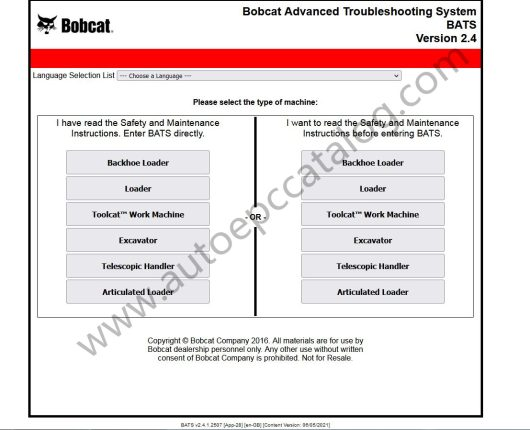 Bobcat Advanced Troubleshooting System 2.4 Download (1)