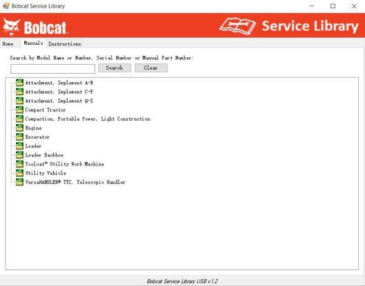 Bobcat Service Library (2)
