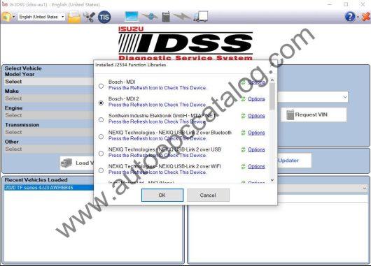 ISUZU G-IDSS Diagnostic Software Download (1)