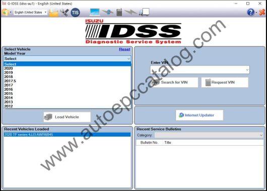 ISUZU G-IDSS Diagnostic Software Download (2)