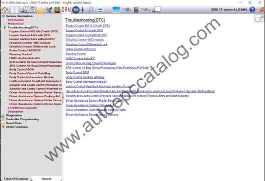ISUZU G-IDSS Diagnostic Software Download (4)