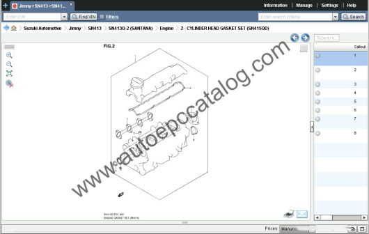 Suzuki EPC 05.2019 Spare Parts Catalog Download & Installation Service (2)