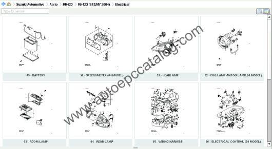 Suzuki EPC 05.2019 Spare Parts Catalog Download & Installation Service (5)