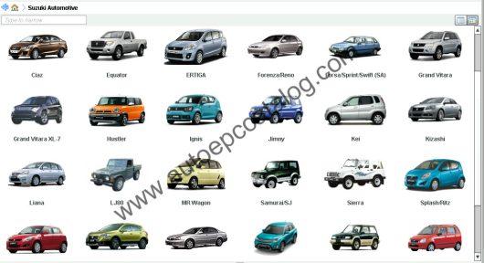 Suzuki EPC 05.2019 Spare Parts Catalog Download & Installation Service (8)