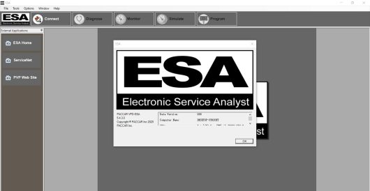2021 Paccar ESA Electronic Service Analyst 5.4.3+KG+Instruction+SW Files