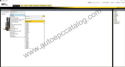 Caterpillar Forklift EPC MCFA+Service Manual Download & Installation (1)