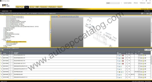 Caterpillar Forklift EPC MCFA+Service Manual Download & Installation (3)