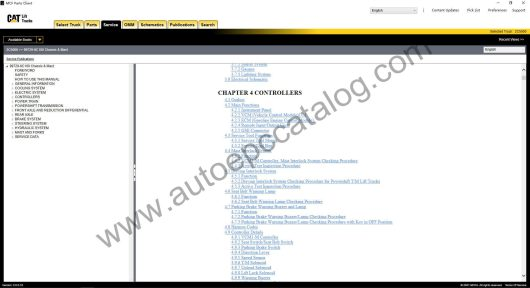 Caterpillar Forklift EPC MCFA+Service Manual Download & Installation (5)