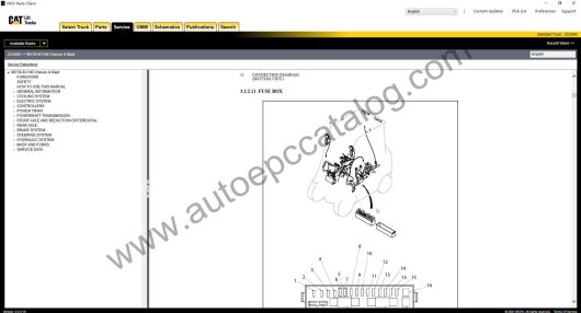 Caterpillar Forklift EPC MCFA+Service Manual Download & Installation (6)