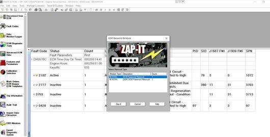 2021 Insite 8.7 Electronic Service Tool+zapit ECM Password removal+Fleet