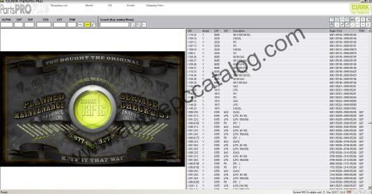 Clark Forklift Parts Pro Plus EPC V500 04.2020 Download (2)