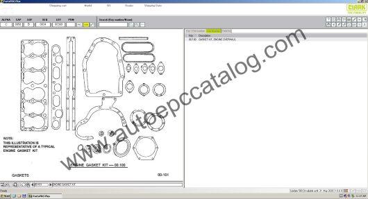Clark Forklift Parts Pro Plus EPC V500 04.2020 Download (4)