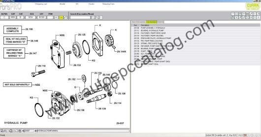Clark Forklift Parts Pro Plus EPC V500 04.2020 Download (6)