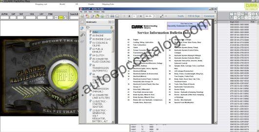 Clark Forklift Parts Pro Plus EPC V500 04.2020 Download (7)