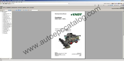 Fendt Epsilon Workshop Service Manual EU 05.2017 Download (4)