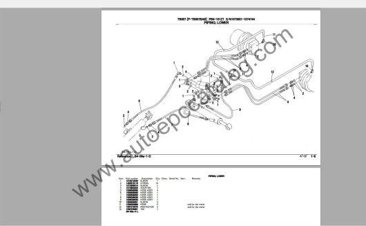 Takeuchi Excavator Workshop EPC+Service Manual (2)