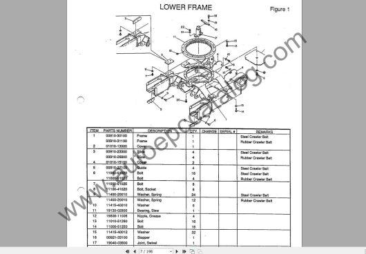 Takeuchi Excavator Workshop EPC+Service Manual (3)