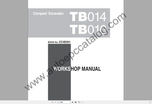 Takeuchi Excavator Workshop EPC+Service Manual (6)