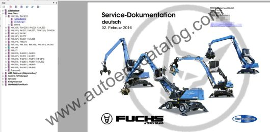 Terex Fuchs Service Manual Diagnostic 2016 Deutsch (1)