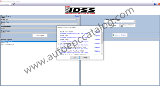 ISUZU E-IDSS Diagnostic Software Download and Installation Service (2)