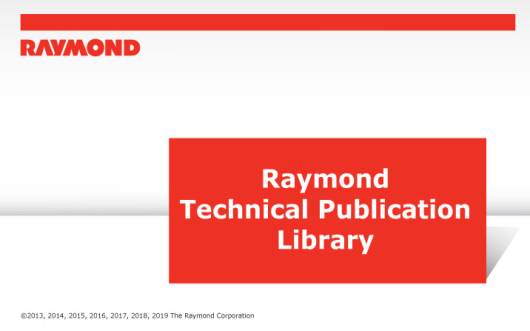 RAYMOND Forklift Technical Publication Library 2019 (1)
