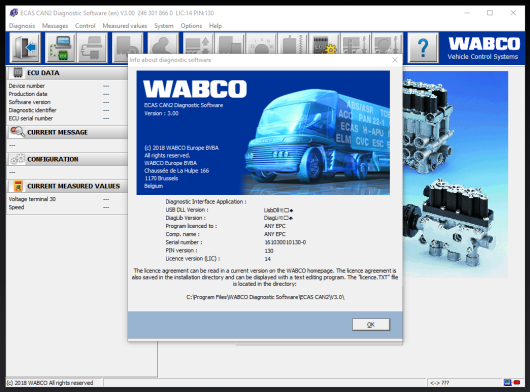 Meritor Wabco Toolbox 13+ECAS CAN2 V3.00 Download & Installation-2