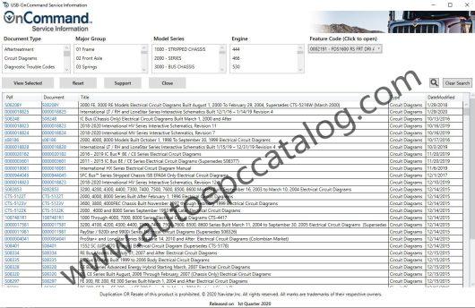 Navistar OnCommend Service Information 1Q 2020 Download Installation (1)
