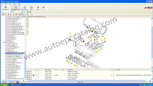 YANMAR Heavy Equipment EPC 11.2009 (3)